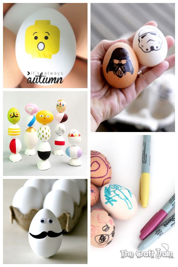10 Unique Easter Eggs without using Dye. #easter