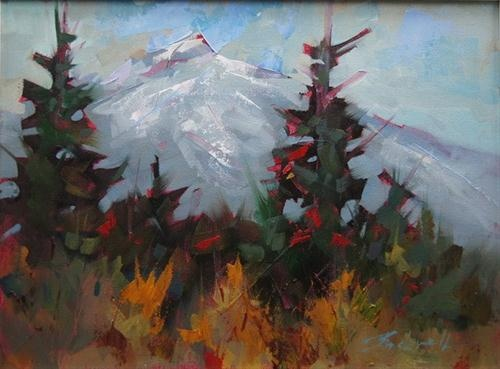 """Mt Washington View"" - Original Fine Art for Sale - © Brian Buckrell"