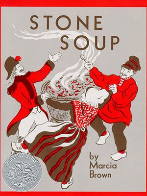 Stone Soup...I did this one as a flannel story, but sometimes we'd cut up the vegetables and make the stew to taste when I taught preschool.