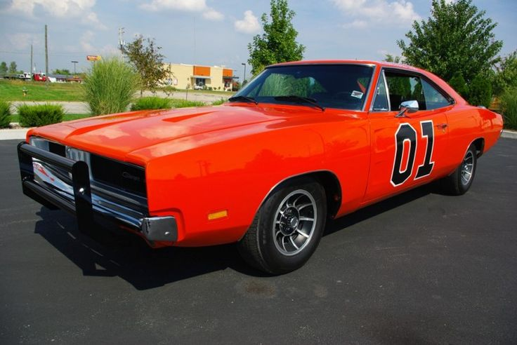 "The ""General Lee"" Dodge Charger from the ""Dukes of Hazard""."