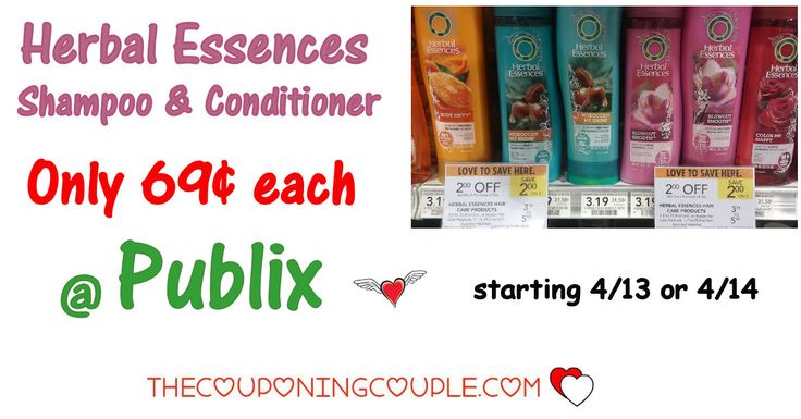Cheap Herbal Essences $0.69 @ Publix starting 4/13 or 4/14. This is a great stock up price on shampoo and conditioner! Get your coupons ready!  Click the link below to get all of the details ► http://www.thecouponingcouple.com/cheap-herbal-essences-0-69-publix/ #Coupons #Couponing #CouponCommunity  Visit us at http://www.thecouponingcouple.com for more great posts!