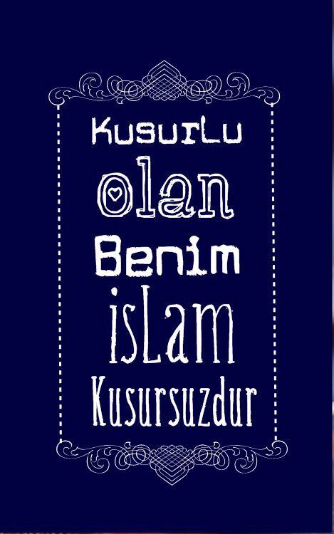 İslamiyeti müslümandan değil Kuran-Kerim'den öğrenin!