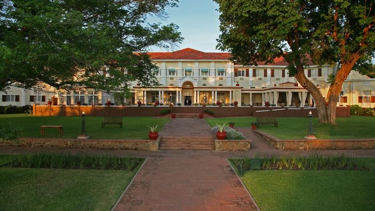 The Grand Dame - Victoria Falls Hotel.  Like going back in time to the British Colonial era.