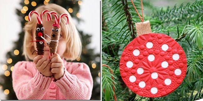 bunt Weihnachtsschmuck Zuckerstangen dekorieren