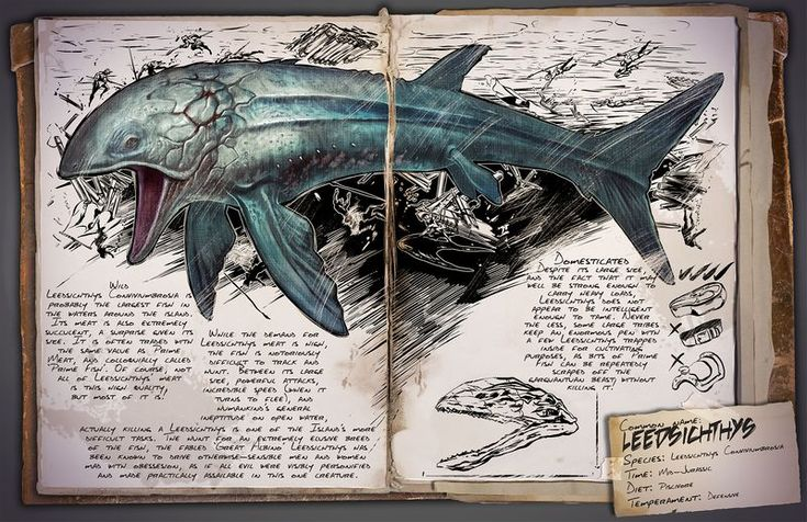 ARK Survival Evolved: Leedsichthys