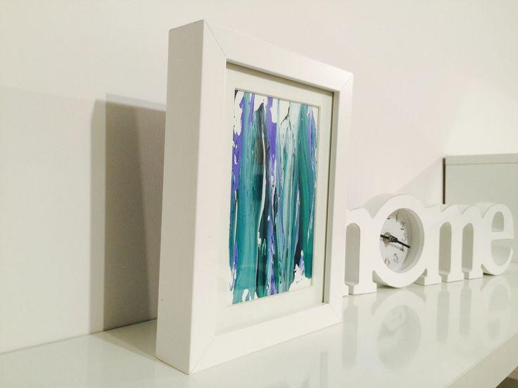 Cuadro abstracto original al óleo - http://www.borjagiron.com/cuadros-abstractos-originales/