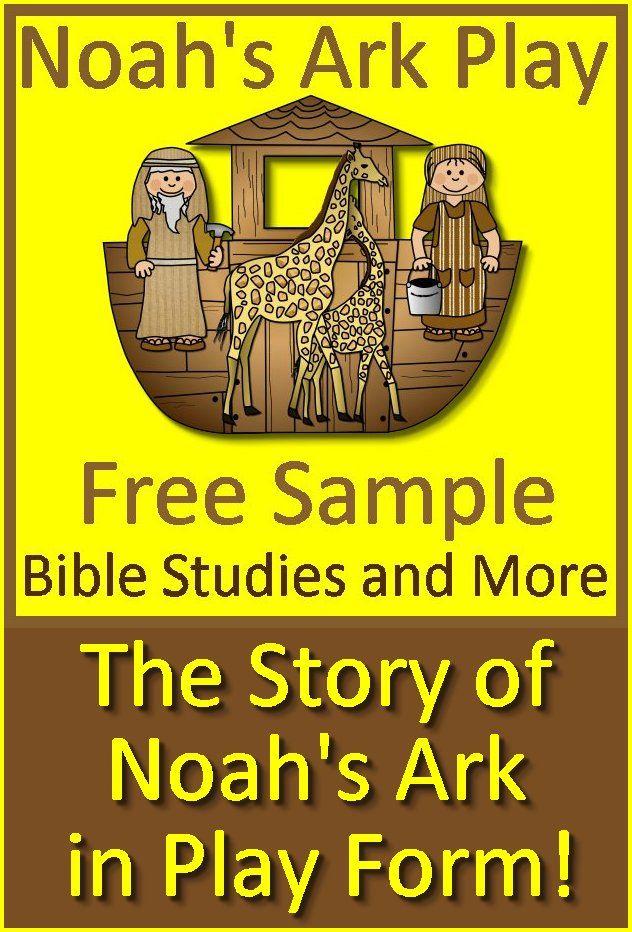 Noah's Ark Play - Free Sample of a Bible Play (Reader's