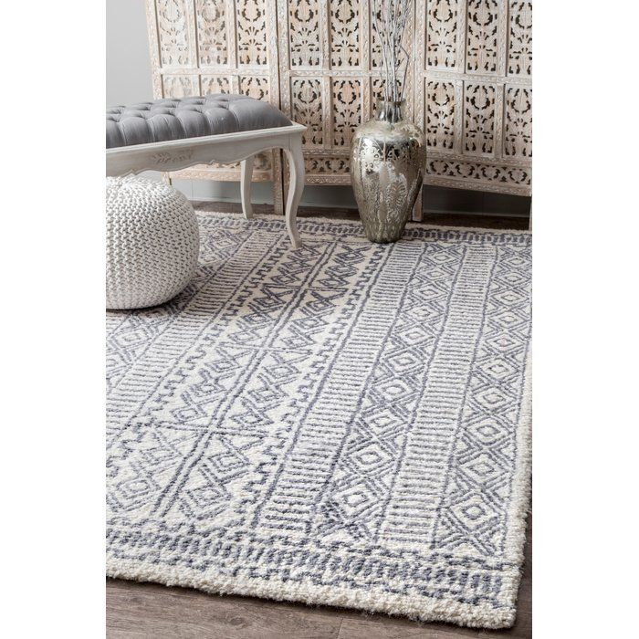 Valero Hand Tufted Ivory Area Rug Area Rugs In 2018 Pinterest