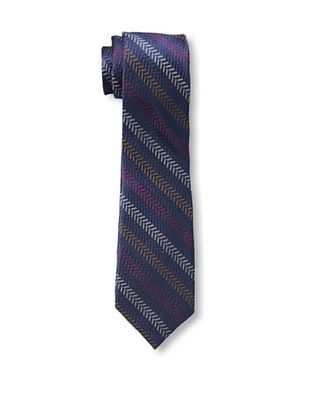 55% OFF Ben Sherman Men's Textured Stripe Tie, Berry