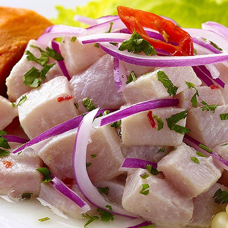 Peruvian Ceviche Recipe. Find more Peruvian recipes at http://www.perualacarte.com