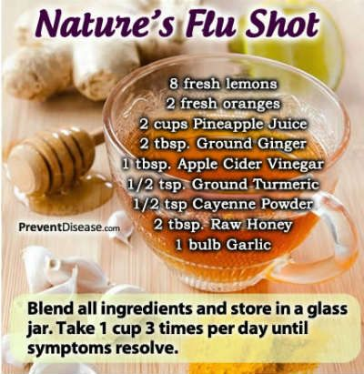 8 Powerful Natural Health Strategies To Prevent The Flu --Posted on OCT 16, 2014