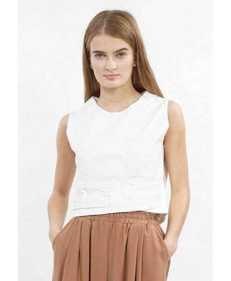 VEST COTTON SHIRT - MINEOLA Online Shopping Fashion Indonesia