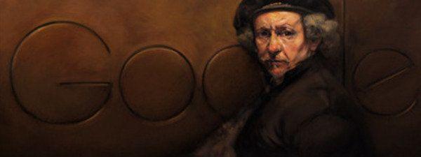 Rembrandt van Rijn, nuevo doodle de Google