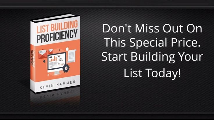 List Building Proficiency By Kevin Hammer Review - The Secrets of List B...