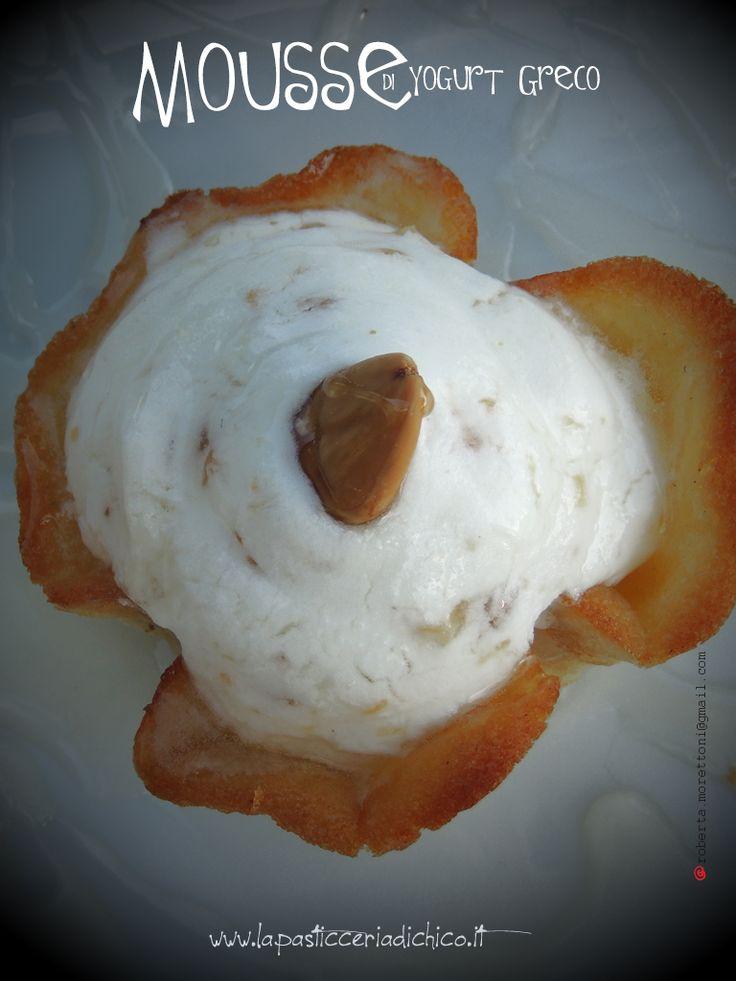 #lapasticceriadichico Un dessert originale dal sapore insolito.........la Mousse di Yogurt Greco!!!! Da provare in un occasione speciale, bella da vedere e delicata al palato!!!! #yogurt #grecia #mandorle #pasticceria #gourmet #dessert #ricetta #lapasticceriadichico #mousse #dolce #dessert #cialda Trovate qui la ricetta: http://www.lapasticceriadichico.it/…/mousse-di-yogurt-greco… Trovate qui la video ricetta: https://www.youtube.com/watch?v=uGNjwNOkHSc