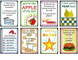 TONS of Lunch Box Notes and Free Printables