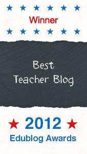 Best Teacher Blog of 2012