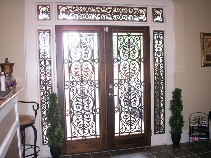 Wrought Iron Wall Panels: 95 Best Images About Wrought Iron On Pinterest