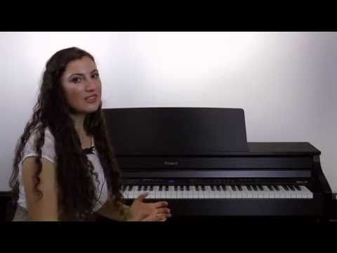 Roland V-Lessons / Piyano Eğitimi Ders-6 - YouTube