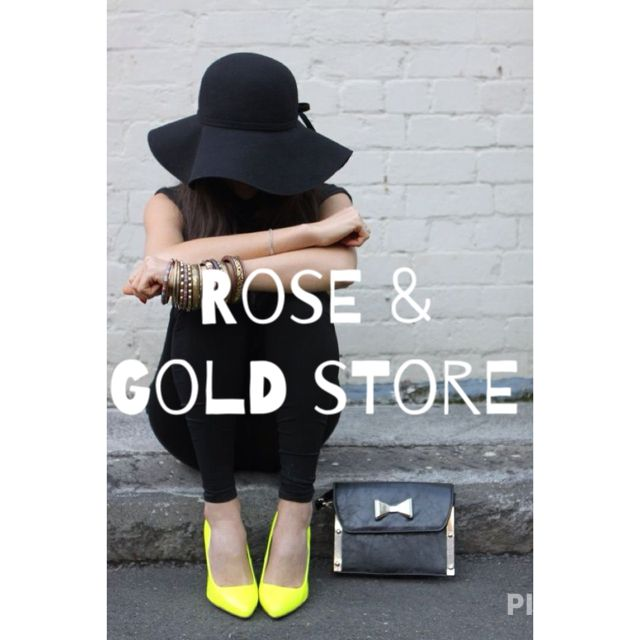 Rose & gold store
