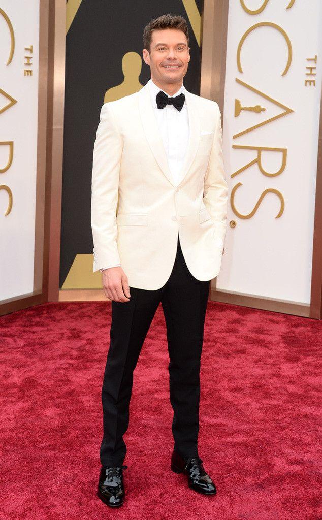 Ryan Seacrest | Burberry | 2014 Oscars