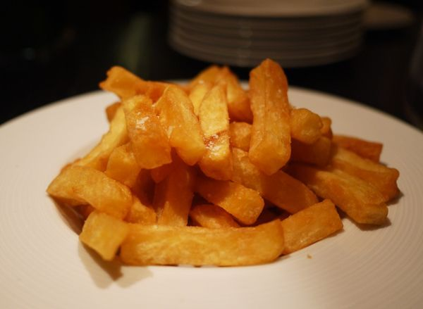 Heston's Triple Cooked Chips // Rosie's Once Cooked Chips - The Londoner