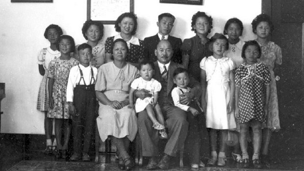 A Chinese family, who worked long hours into creating Barkerville.