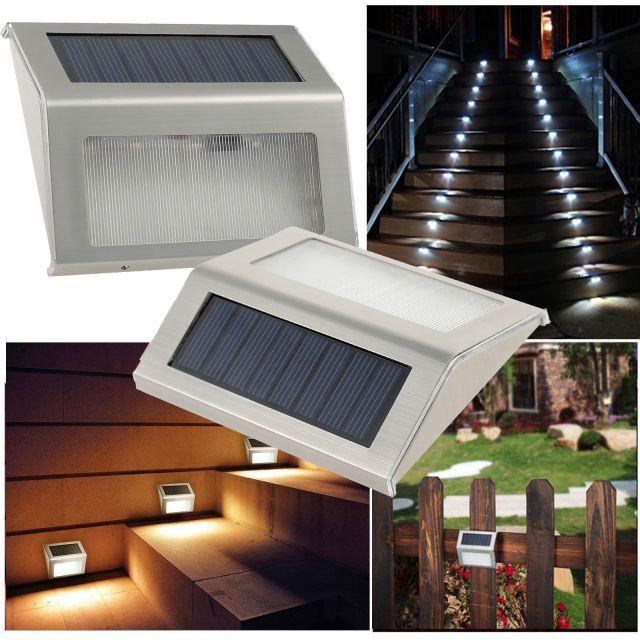 Solar Stair Light Fixtures Home Interior Design Ideas Solar Lamp Stair Lighting Step Lighting Outdoor