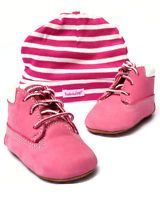 Timberland - Girls Crib Bootie With Hat - Sets, Clothing