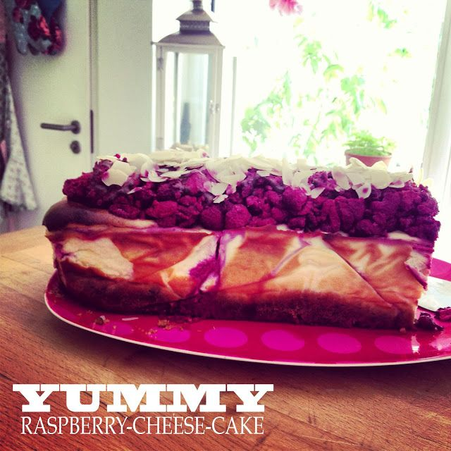 Raspberry-Cheesecake-Rezept von flying-fawn.com