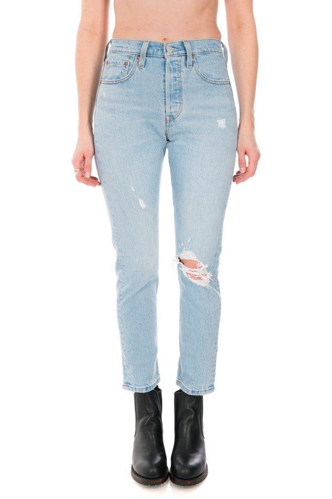 5bbff611833 Women's Levi's 501 Skinny Jean in Low Pro #levis #denim #levis501skinny #501  #toronto #philistine