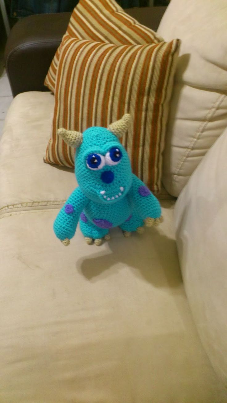 Amigurumi En Monsters : 25+ best ideas about Monsters inc crochet on Pinterest ...