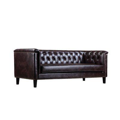 Darby Home Co Delphia 3 Seater Chesterfield Sofa