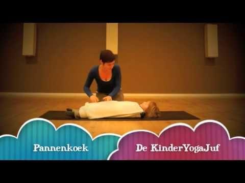 ▶ De KinderYogaJuf - Pannenkoek - YouTube