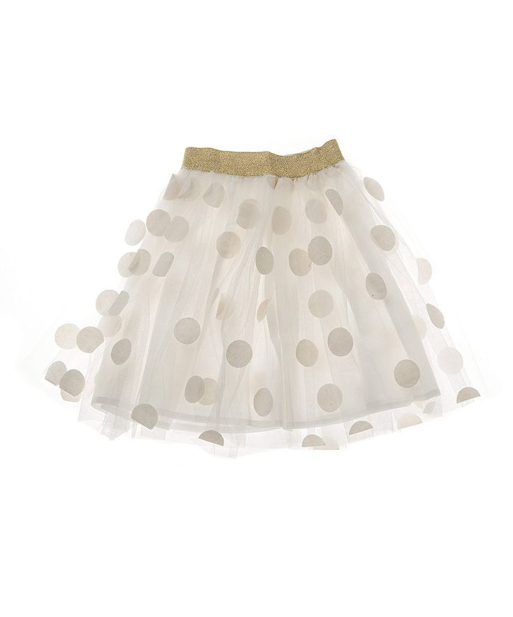 White toddler skirt 5