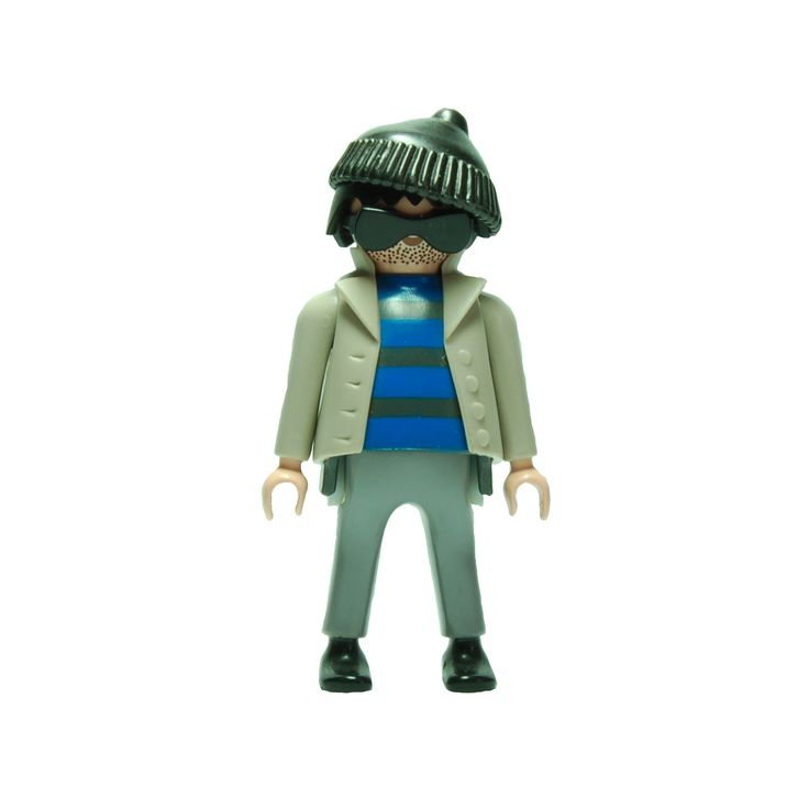 Rob from Playmobil© 3161 in 360°