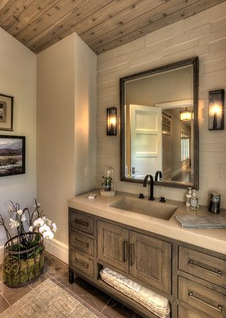 Stunning Bathroom!  #TeerlinkCabinet - Custom #Cabinetry  #bathroom #home #interior