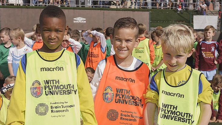 2 March 2015 | Junior football kit competition to support Brain Tumour Research in Plymouth. https://www.plymouth.ac.uk/news/junior-football-kit-competition-to-support-brain-tumour-research