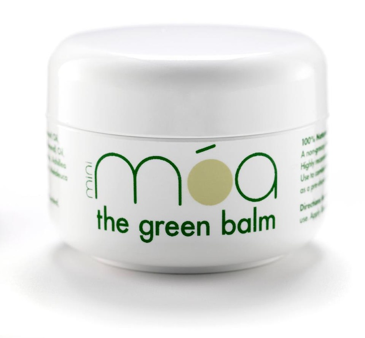 móa green balm:  It's GREEN, it's a BALM, it's 100% NATURAL and it's a MIRACLE! Crammed with organic yarrow and lots of other lovely natural stuff this handy pot of móa balm has many weird and wonderful uses....  http://www.thegreenbalm.com/