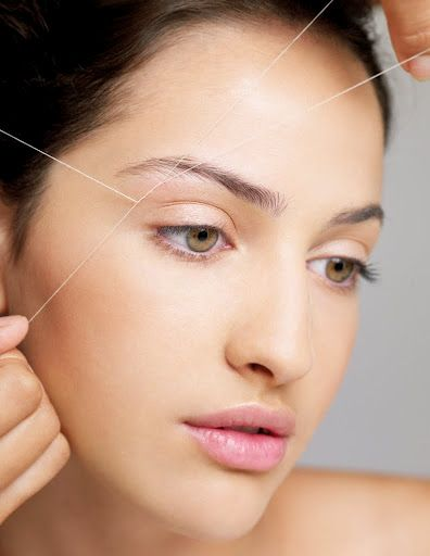 Threading is an ancient method of hair removal originating in middle east.   Have your eyebrows threaded to perfection at Elegance beauty Salon for only R40.  (For more information on Elegance click on the image)