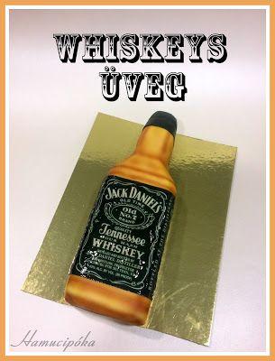 Hamucipóka: Whiskeys üveg