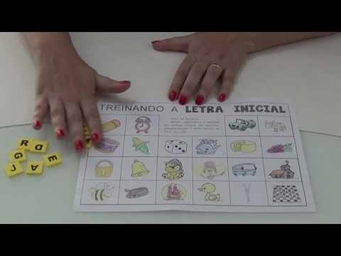 (53) Dica Legal - Consciência Fonológica - Letra inicial - YouTube