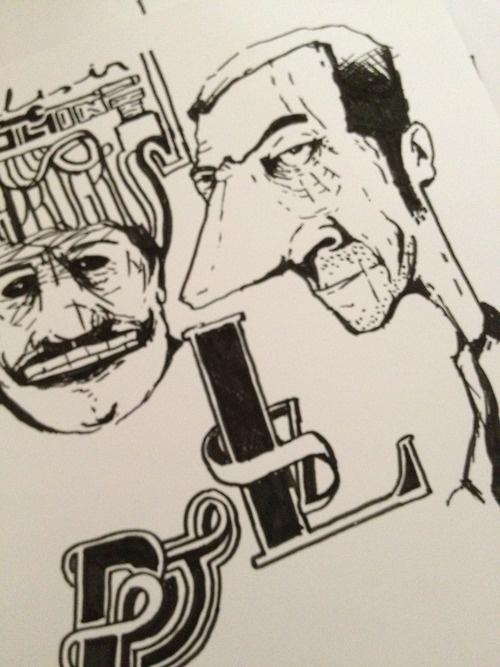Sketches by Luca Armari - lucaarmari.com