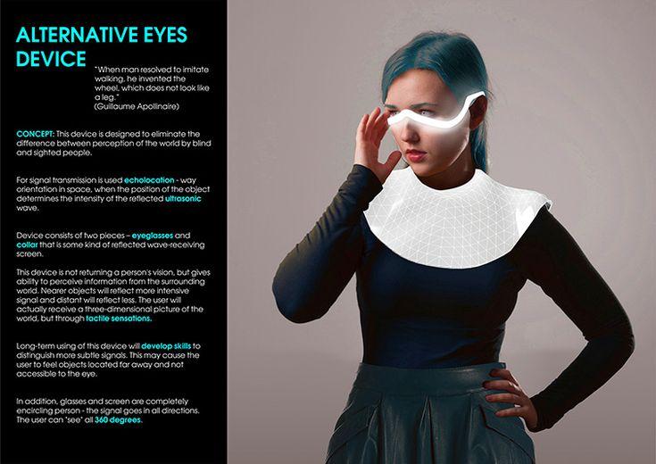 Alternative eyes device   Macosh design