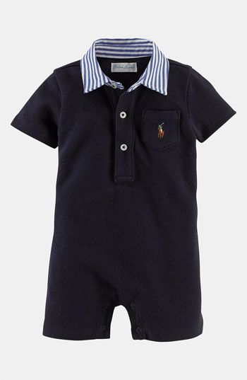Ralph Lauren Romper (Infant) available at #Nordstrom