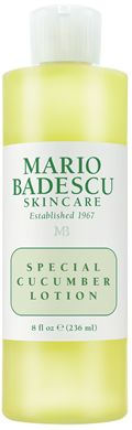 Special Cucumber Lotion | Skin Care Products and Reviews | Toners/Astringents - Mario Badescu Skin Care
