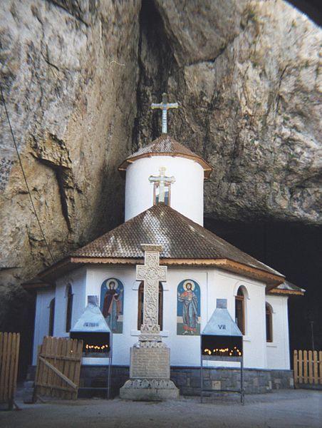 Monastery, Ialomita cave, Romania