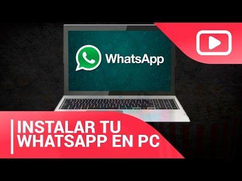 Como Descargar Whatsapp para PC 2016 - NUEVO MÉTODO - Windows & Mac - YouTube