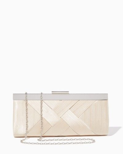 Scarla Crisscross Clutch | Special Occasion Handbags | charming charlie