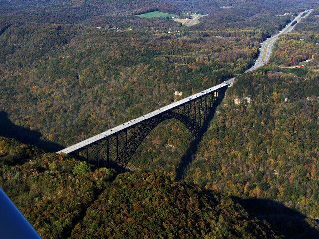 New River Gorge Bridge - Approx. 4 miles from our former home in Oak Hill, West Virginia